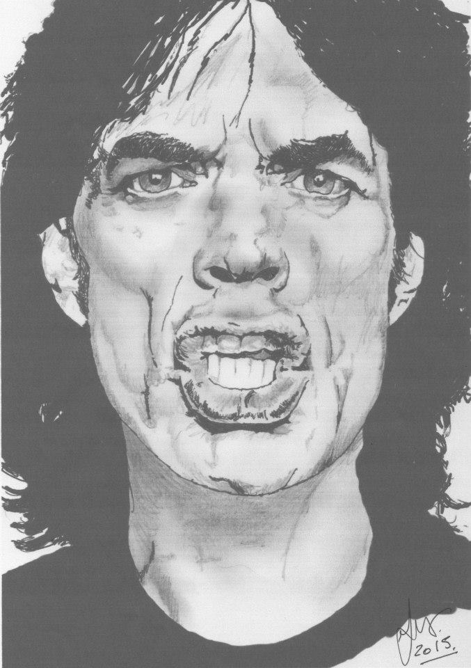 Mick Jagger by weaverjohn